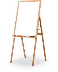 Teacher Oak Presentation Easel