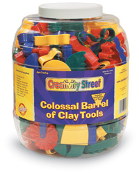 Colossal Barrel of Clay Tools