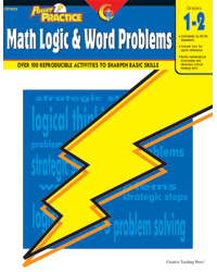 Power Practice Math Logic & Word Problems