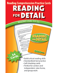 Reading Comprehension Practice Cards