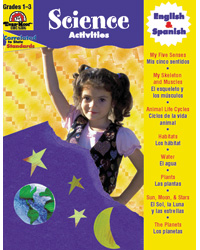 Spanish/English Science Activity Book