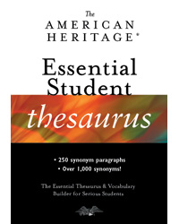 The American Heritage Essential Student Thesaurus