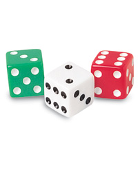 "5/8"" Dot Dice Set"