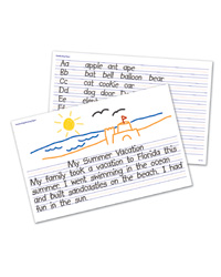 Handwriting Write and Wipe Off Desk Mats