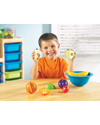 Counting Fun Fruit Bowls