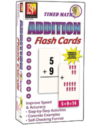 Timed Math Flash Cards