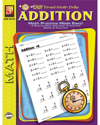 Easy Timed Math Drills