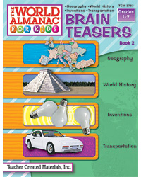 Brain Teasers Geography, World History, Inventions & Transpo