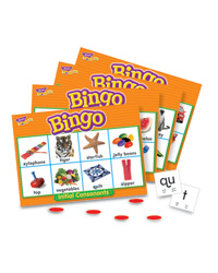 Initial Consonants Bingo Game