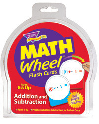 Math Wheel Flash Cards