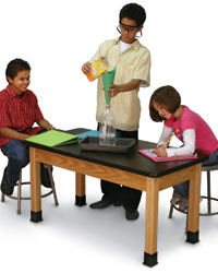 Kid's Height Science Tables