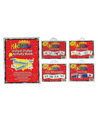 Magnetic Colorful USA Activities