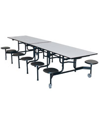 Stool Cafeteria Table