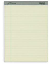 Pastel Writing Pads - Letter Size
