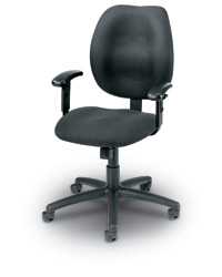 Ratchet Adjustable Back Task Chair