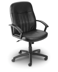 Executive Leather or Fabric Chair