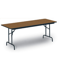 "Mid Grade 5/8"" High Pressure Top Folding Tables"