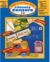 Literacy Centers - Take it to Your Seat