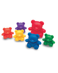Three Bear Family Counters