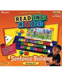 Sentence Building Reading Rods Classroom Kit