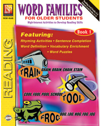 Word Families for Older Students 2 Book Set