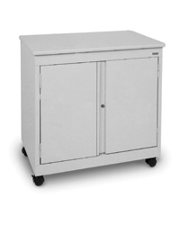 Mobile Desk Height Storage Cabinet