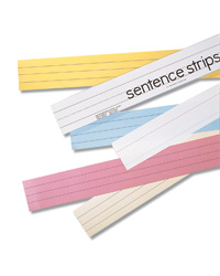 Mini Sentence Strips