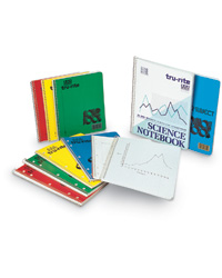 Wirebound Subject Notebooks