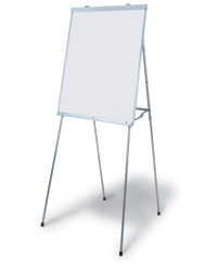 Telescoping Dry-Erase and Chalkboard Easels