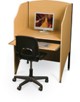 Fashionable, Affordable Floor Carrels