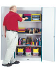 Rainbow Accents Classroom Closet Deluxe