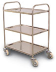 Stainless Steel Service Carts