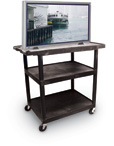 Mobile Plasma or LCD Table Top Stand