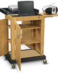 Smart Cart Lectern Multipresentation Stand