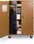 Wood Mobile Storage Cabinets