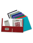 Oxford Twin Pocket Laminated Folder