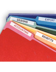 Colored File Folders Letter Size