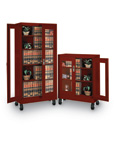 Mobile Visual Storage Cabinets
