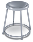 Heavy-Duty Steel Padded Stools