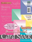 Pearl Card Stock