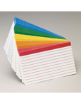 Oxford Color Coded Index Cards