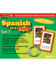 Spanish in a Flash Flash Cards