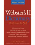 Webster's II New Riverside Dictionary, Office Edition