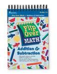 Flip Over Math Activity Books