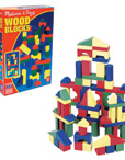 Wooden Color Block Sets