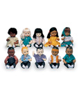 Multi-Ethnic School Dolls