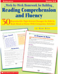 Week-by-Week Homework for Reading Comprehension and Fluency