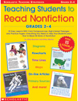 Teaching Students to Read Nonfiction - with Lessons