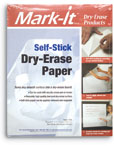 Self Stick Dry Erase Paper
