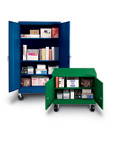 Colorful Mobile Storage Cabinets